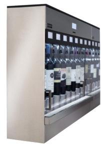 wijndispenser muur