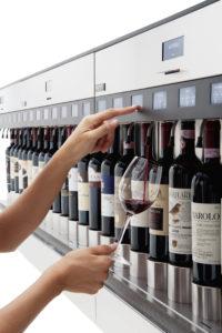 design wijnrek muur enomodule
